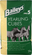 Baileys No. 5 Yearling Cubes